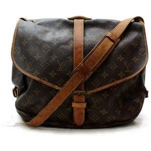 Louis Vuitton Shoulder Bag Saumur 35